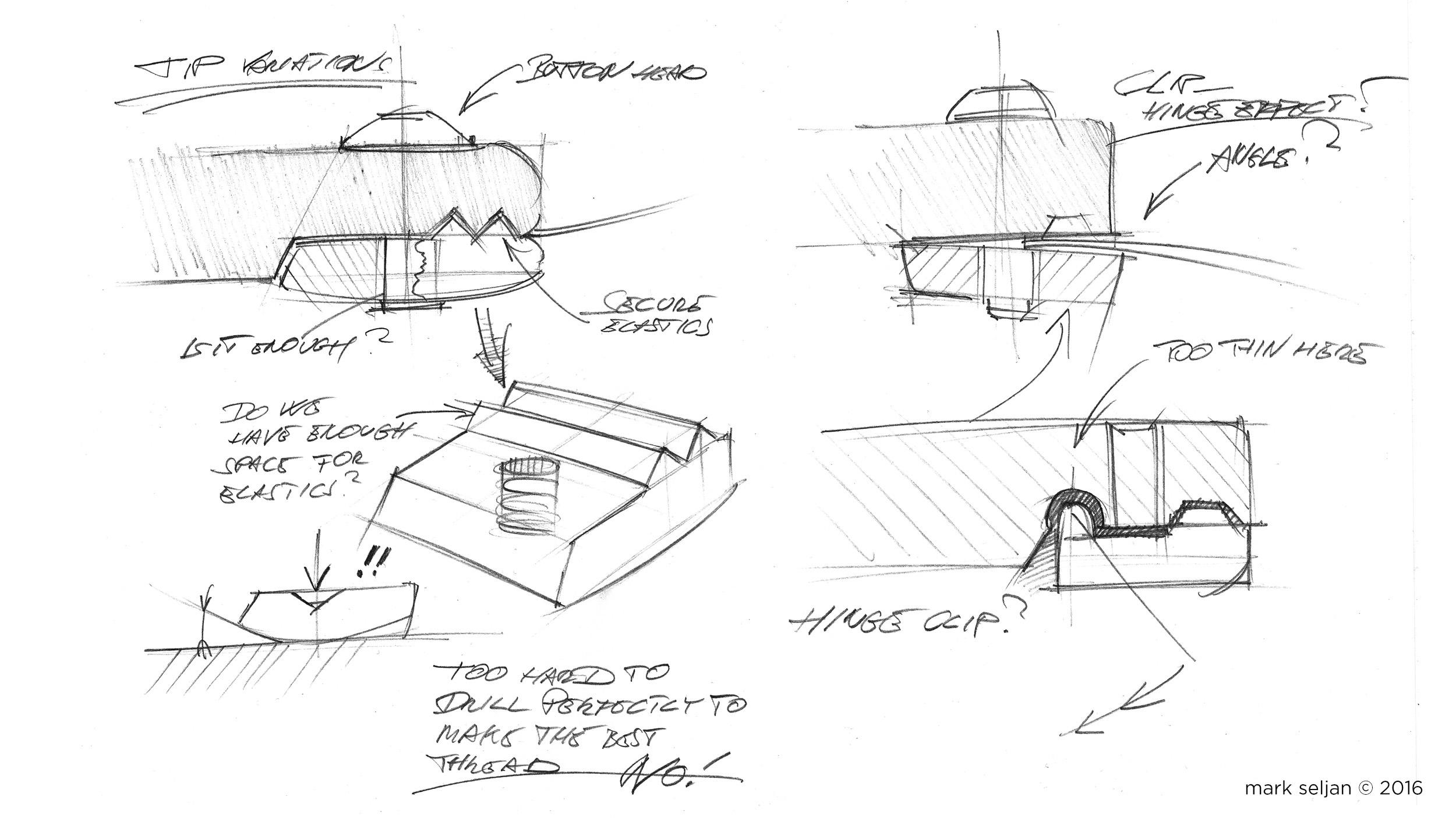 Seljan - The Slant - Concept Sketch