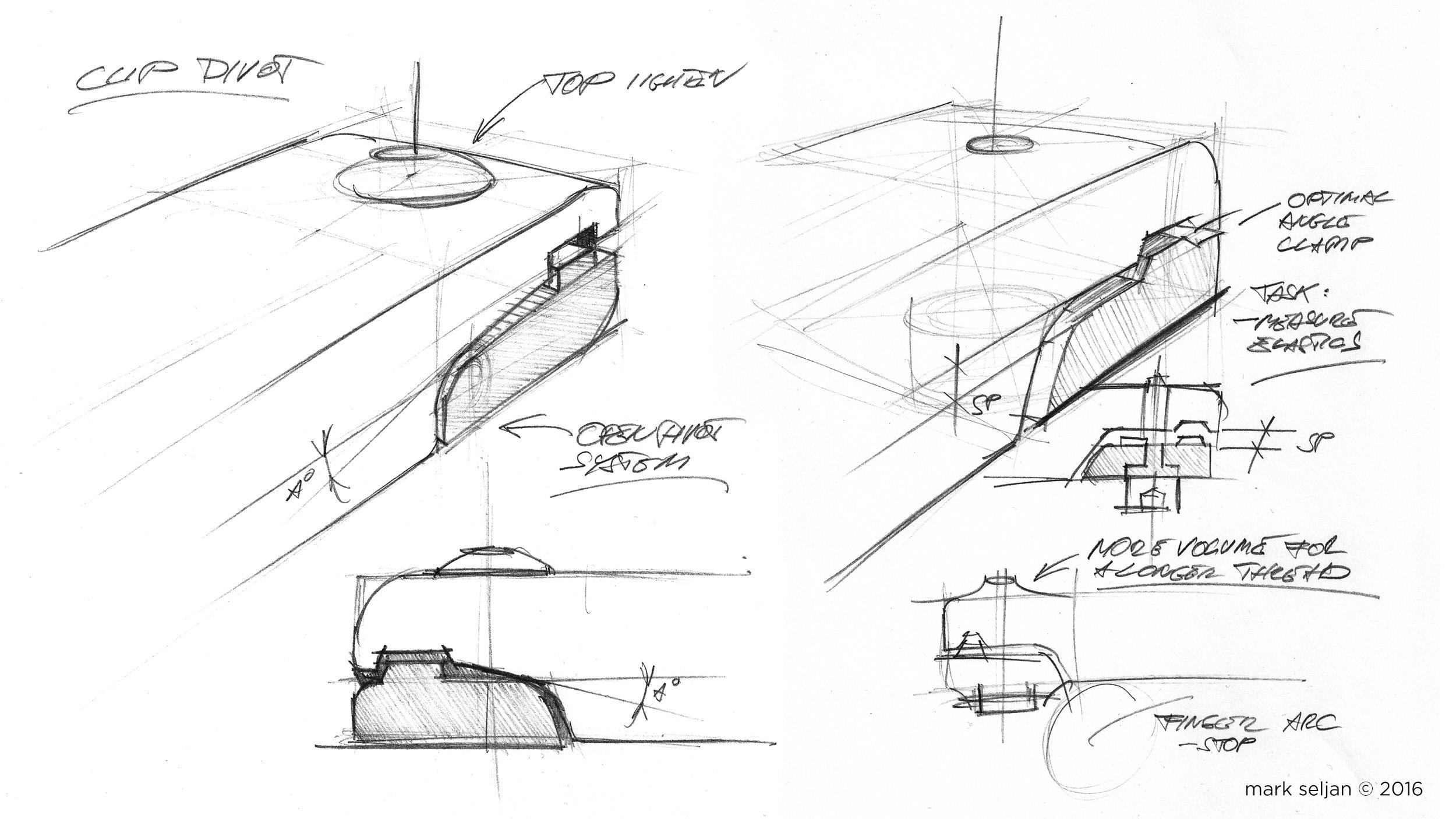 Seljan - The Slant - Concept Sketch, clips 2