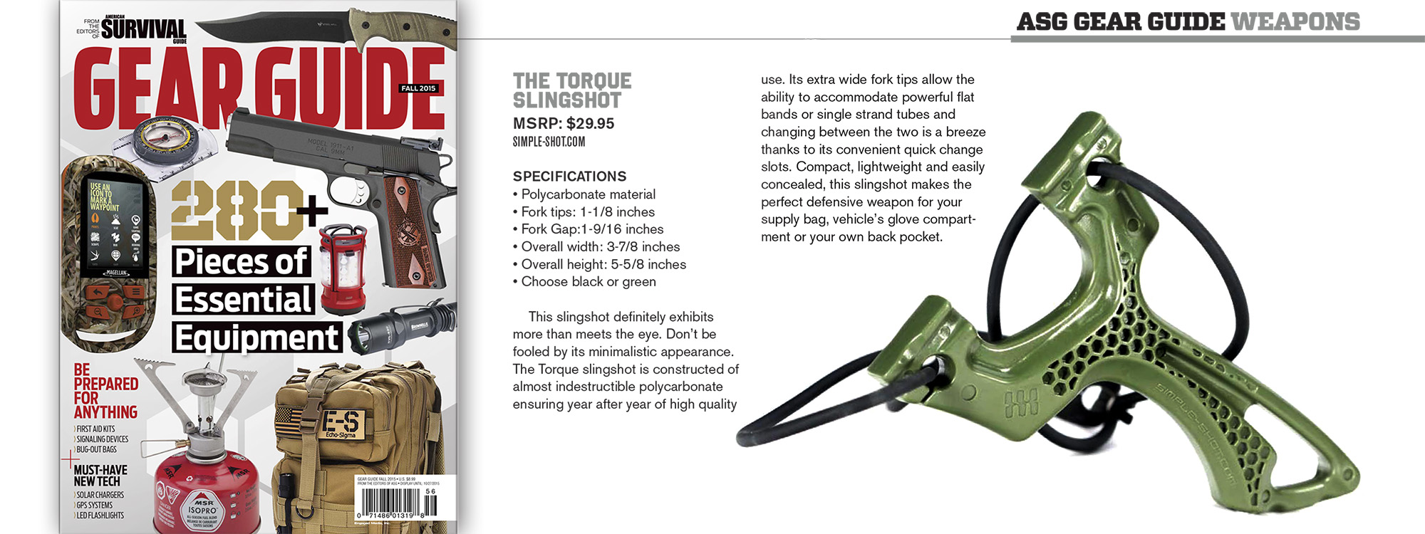 American SUrvival Guide - SimpleShot - The Torque